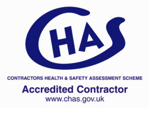 CHAS - Contractors Health & Safety Assessment Scheme - Accredited Contractor - www.chas.gov.uk