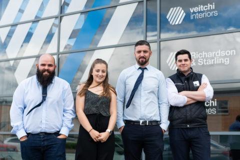 Veitchi Directors with new Veitchi graduates